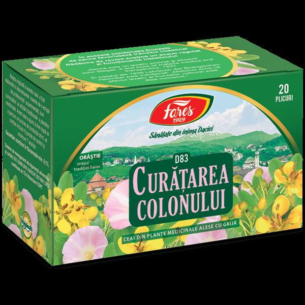 curatarea colonului ceai prospect bun antihelmintic pentru copii