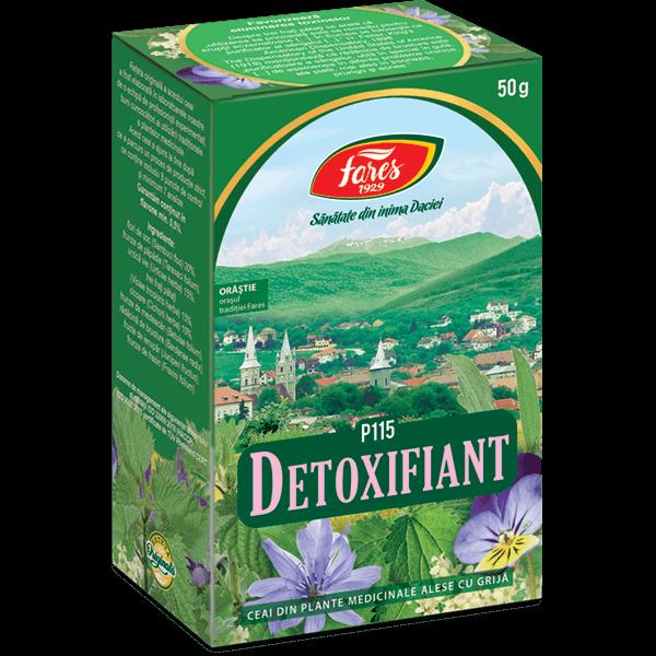ceai pt dezintoxicarea organismului