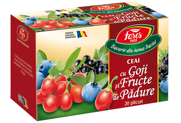 goji si fructe de padure