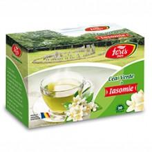 Ceai verde cu iasomie, ceai la plic