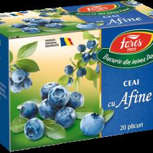 Ceai cu afine, ceai la plic