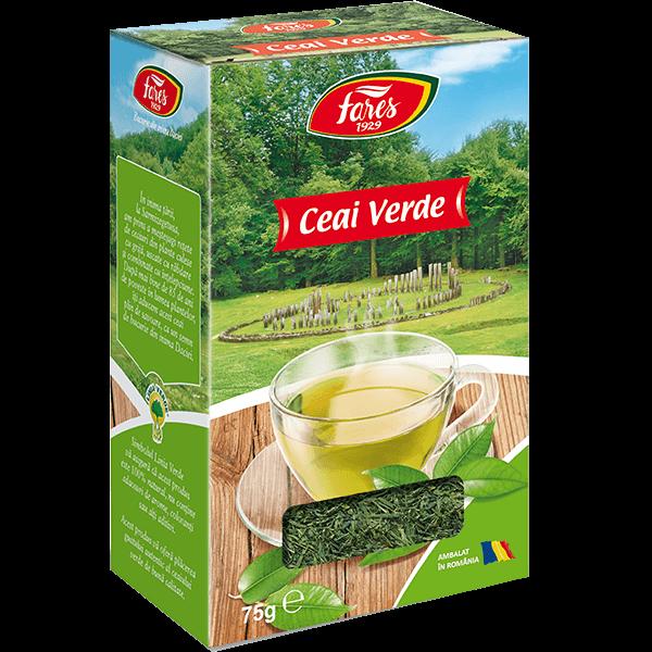 ceai verde natural