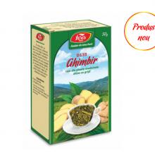 Ghimbir, rizomi, D135, ceai la pungă