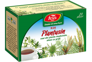 Plantusin (antibronșic), R26, ceai la plic