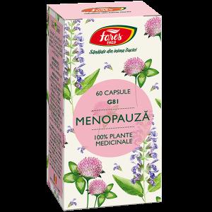Menopauză, G81, capsule