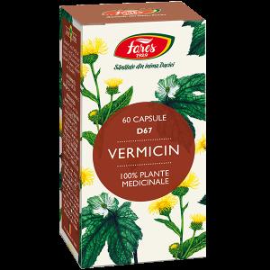 Vermicin (antiparazitar), D67, capsule