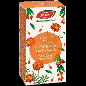 Vitamina A naturala, F161, capsule