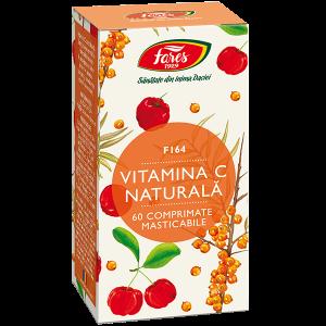 Vitamina C naturală, F164, comprimate masticabile