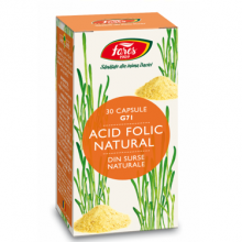 Acid Folic Natural, G71, capsule