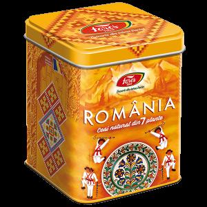 Ceai Suvenir România, galben
