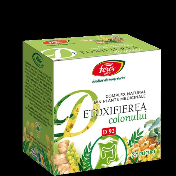 Ceai Organism purificat - Fares, 20 doze (Detoxifiere) - rezolvaripbinfo.ro