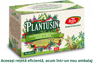 Ceai med Plantusin plic 3D 2019