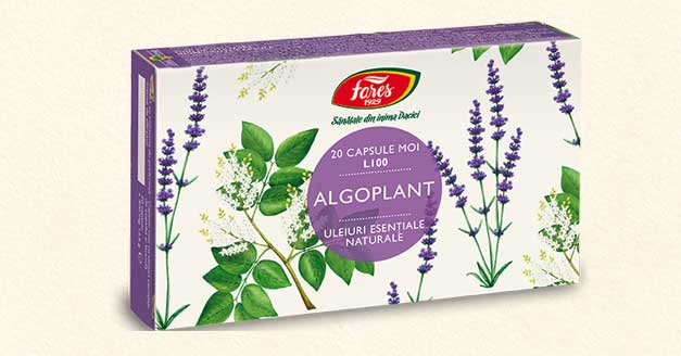 Algoplant, rapid si eficient in durerile de cap. 100% natural.