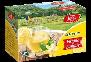 ceai verde la plicuri