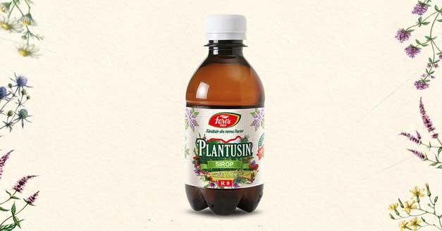 Sirop antitusiv din plante medicinale, Plantusin. Alegerea romanilor de peste 25 ani.