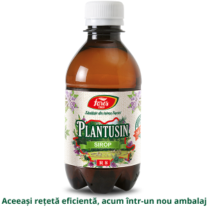 Sticla Sirop Plantusin 250ml 3D 2019