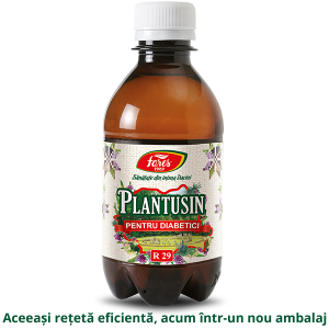 Sticla Sirop Plantusin Diabet 250ml 3D 2019