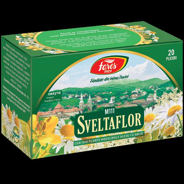 Ceai sveltaflor Fares, 50 g | Pentru Corpul Tau, Sveltaflor ceai contra obezitatii