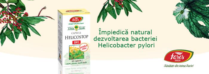 remediu pentru Helicobacter pylori