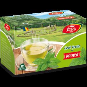 ceai verde la plic