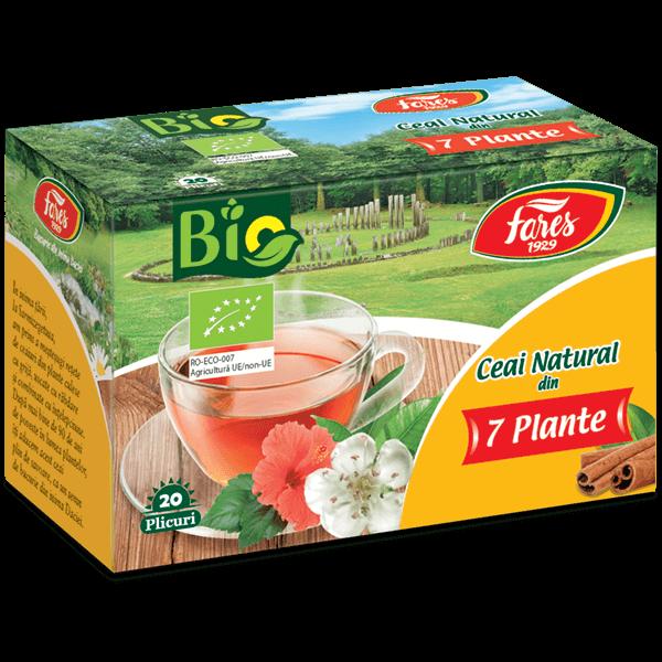 ceai bio 7 plante